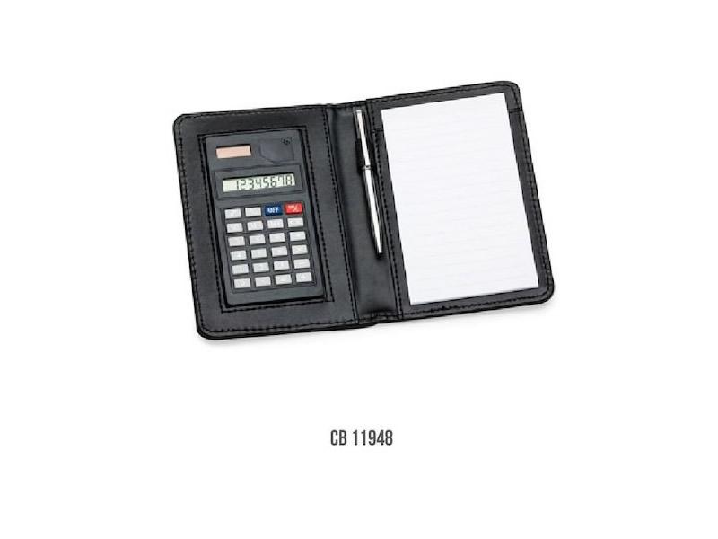 Bloco de Anotações com Calculadora CB 11948