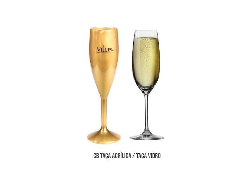 Taça CB TAÇA ACRÍLICA / TAÇA VIDRO